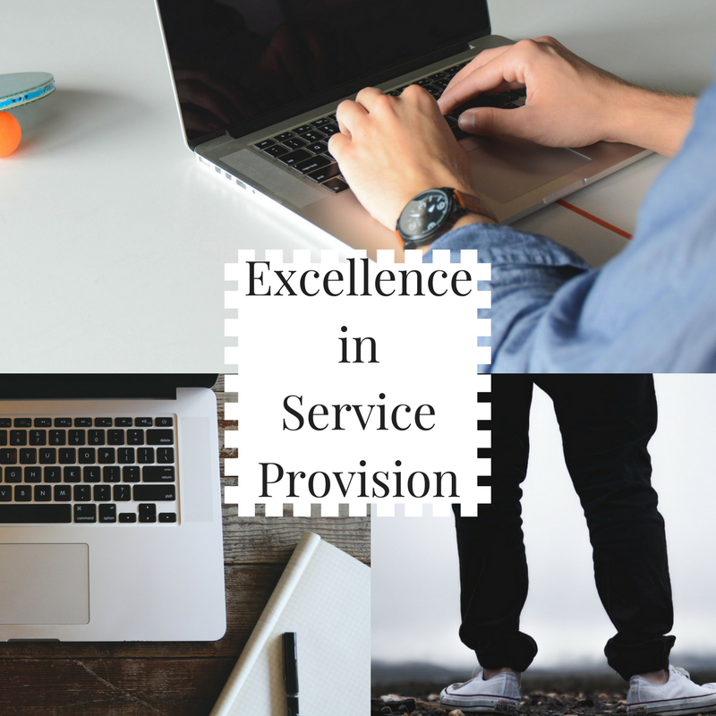 Excellence in Service Provision