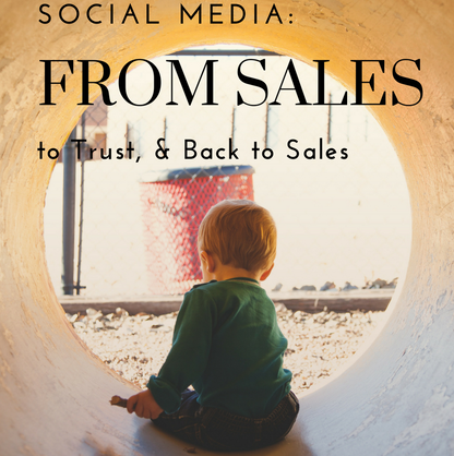 Social Media Header: From Sales to Trust